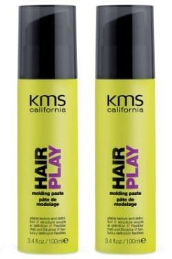2 x KMS Hair Play Molding Paste i gruppen Man / Hårvård för män / Styling för män hos Bangerhead (SA000149)