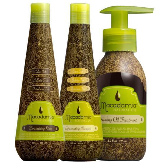 Macadamia Triokit i gruppen Hårpleie / Shampoo & balsam / Shampoo hos Bangerhead.no (SA000176)