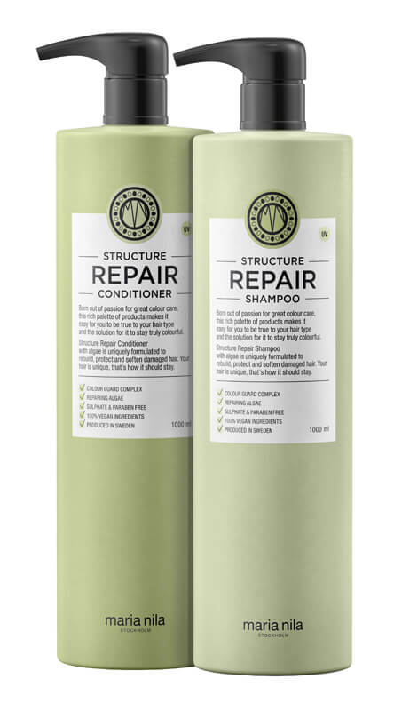 Maria Nila Care Structure Repair Duo XXL i gruppen Editor's choice /  hos Bangerhead.no (SA000229)