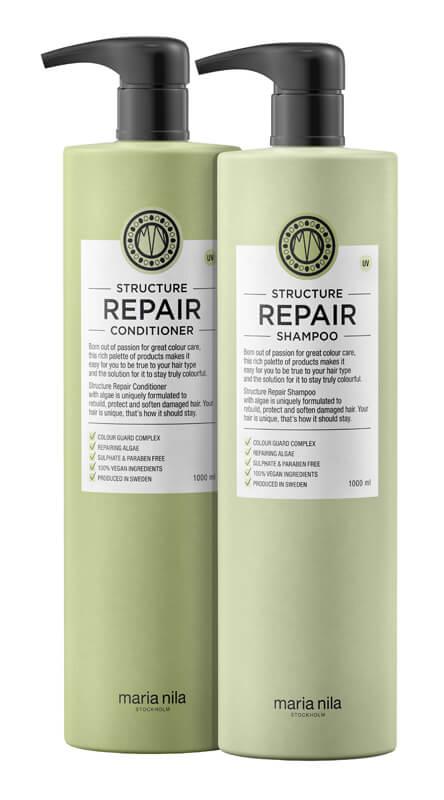 Maria Nila Care Structure Repair Duo XXL i gruppen Hårpleie / Shampoo & balsam / Shampoo hos Bangerhead.no (SA000229)