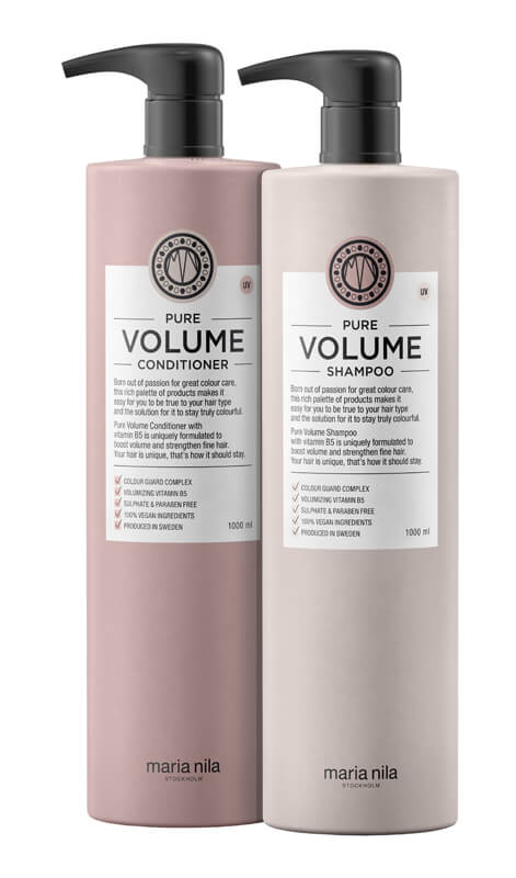 Maria Nila Care Pure Volume Duo XXL i gruppen Editor's choice / World Animal Day hos Bangerhead (SA000233)