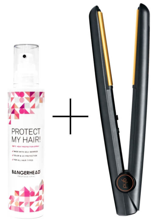 ghd IV Styler + Bangerhead Professional Protect My Hair i gruppen Hårpleie / Styling / Varmebekyttelse hos Bangerhead.no (SA000248)