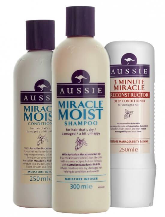 Aussie Miracle Moist Trio i gruppen Hårvård / Inpackning & treatments / Inpackning hos Bangerhead (SB005486)