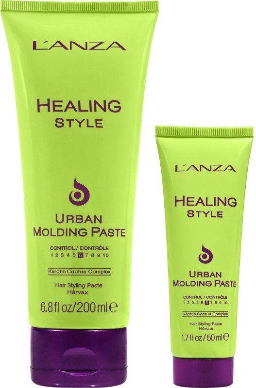 Lanza Healing Style Molding Paste Duo (200+50ml) ryhmässä Black Friday / Hiustenhoitosuosikit at Bangerhead.fi (SB029562)