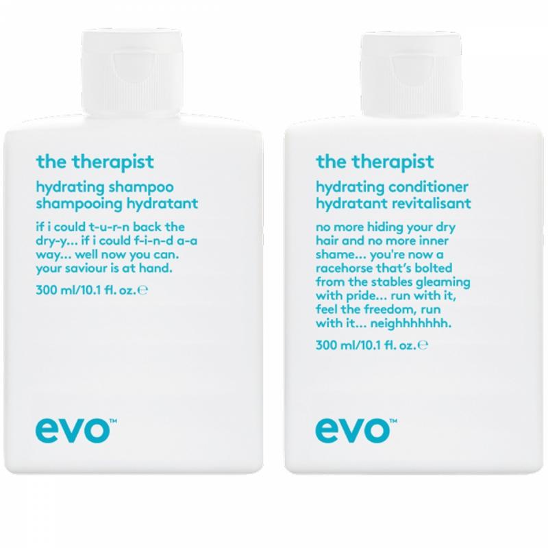 Evo The Therapist Calming Duo (300+300ml) i gruppen Editor's choice / Schampo & balsam från Evo hos Bangerhead (SET00113)