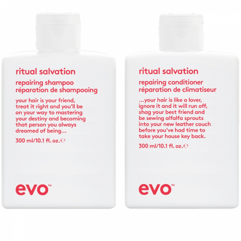 Evo Ritual Salvation Duo (300+300ml) i gruppen Editor's choice / Schampo & balsam från Evo hos Bangerhead (SET00114)