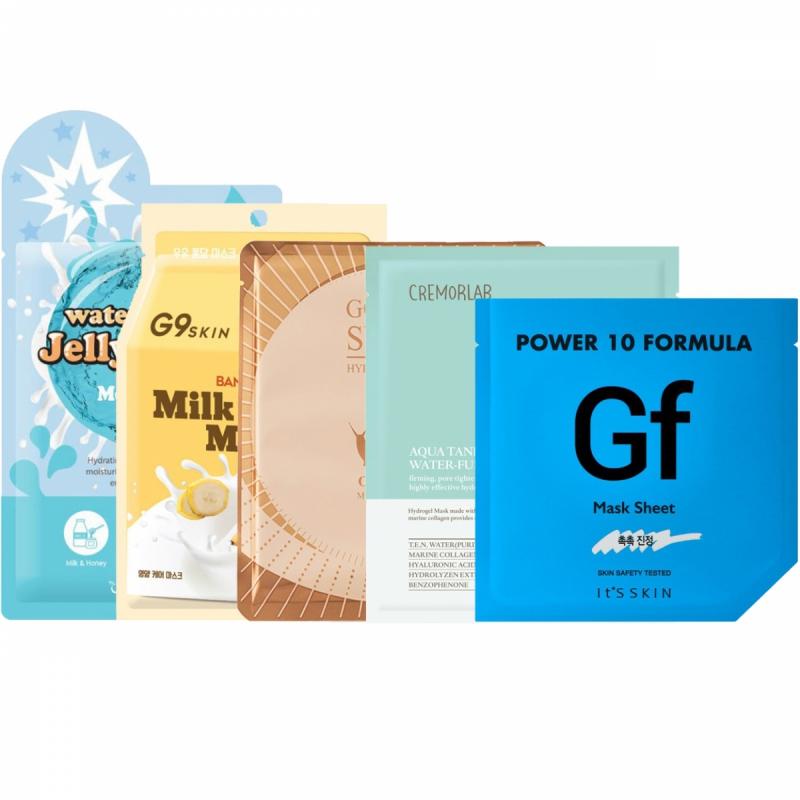 Sheet Mask Hydrating Kit ryhmässä Ihonhoito / Lahjapakkaukset & setit / Tarjouspaketit  at Bangerhead.fi (SET00119)