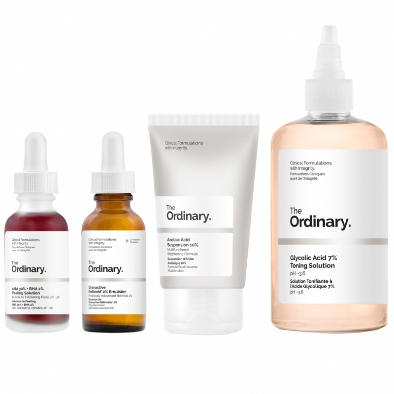 The Ordinary Uneven Skin Texture Kit ryhmässä Editor's choice / Ihonhoitoa The Ordinarylta at Bangerhead.fi (SET00126)