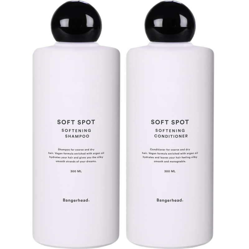 Bangerhead Soft Spot Duo i gruppen Editor's choice / Soft Spot Softening Hair Mask hos Bangerhead (SET00136)