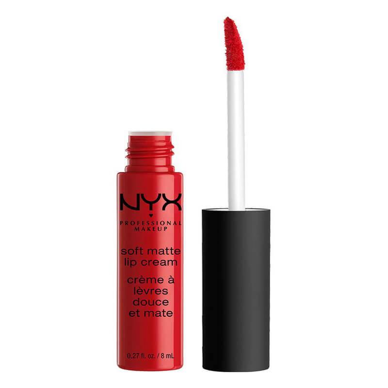 NYX Professional Makeup Soft Matte Lip Cream i gruppen Makeup / Lepper / Leppeglans hos Bangerhead.no (SMLC01r)