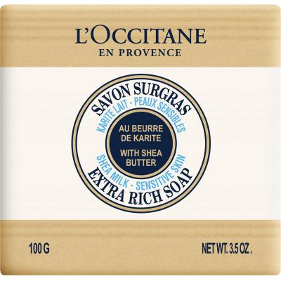 L'Occitane Shea Soap Milk i gruppen Kroppspleie & spa / Hender & føtter / Håndsåpe hos Bangerhead.no (B002523r)