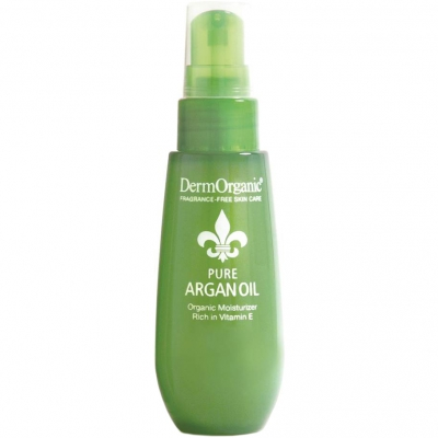 DermOrganic 100% Organic Pure Argan Oil (50ml) i gruppen Hårpleie / Styling / Hårolje hos Bangerhead.no (B007194)