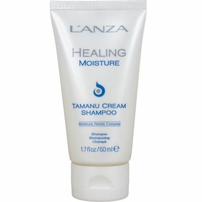 Lanza Healing Moisture Tamanu Cream Shampoo i gruppen Hårvård / Schampo & balsam / Schampo hos Bangerhead (B007860r)
