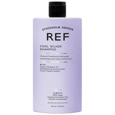REF Cool Silver Shampoo ryhmässä Hiustenhoito / Shampoot & hoitoaineet / Hopeashampoot at Bangerhead.fi (B023586r)
