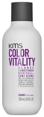 KMS Colorvitality Blonde Conditioner ryhmässä Hiustenhoito / Hoitoaineet / Hopeashampoo at Bangerhead.fi (B025382r)