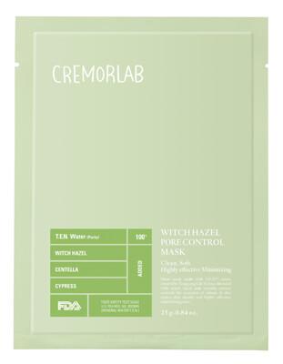 Cremorlab Witch Hazel Pore Control Mask i gruppen Hudvård / Ansiktsmask / Sheet mask hos Bangerhead (B026500r)