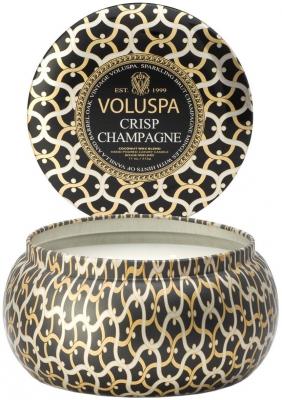 Voluspa Crisp Champagne ryhmässä Vartalonhoito & spa / Koti & Spa / Tuoksukynttilät at Bangerhead.fi (B029092r)