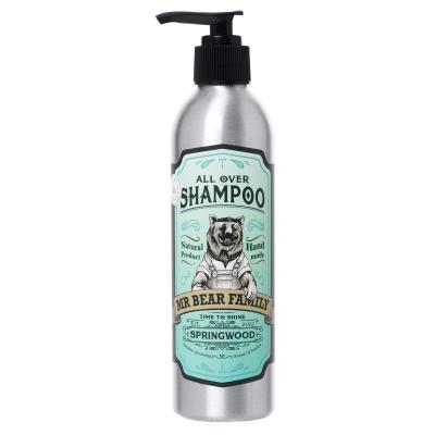 Mr Bear Family All Over Shampoo Springwood i gruppen Man / Hårvård / Schampo hos Bangerhead (B051977r)