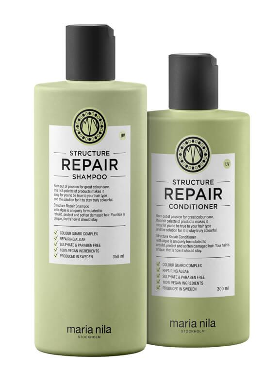 Maria Nila Care Structure Repair Duo i gruppen Hårpleie / Vegansk hårpleie hos Bangerhead.no (s03601)