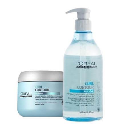 L'Oréal Curl Contour Shampoo + Masque XL i gruppen Hårvård / Inpackning & treatments / Inpackning hos Bangerhead (s31017751)