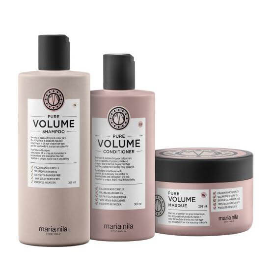 Maria Nila Care Pure Volume Trio i gruppen Hårpleie / Hårkur & treatments / Hårkur hos Bangerhead.no (s3610)
