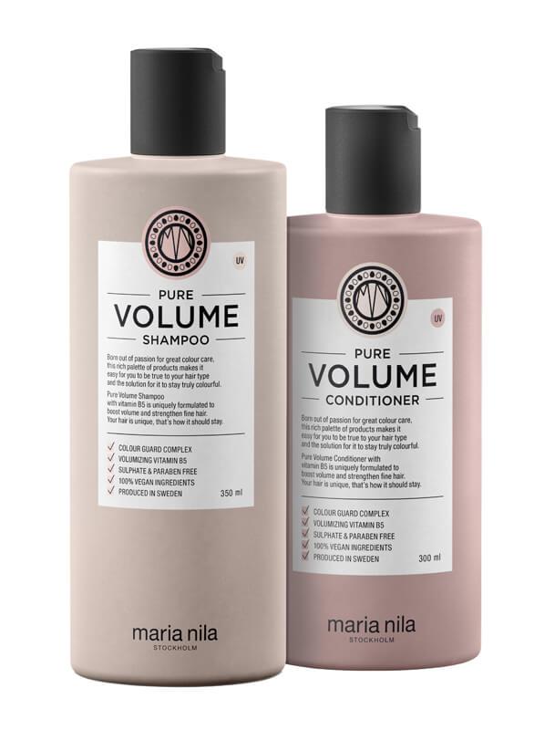 Maria Nila Care Pure Volume Duo i gruppen Hårpleie / Vegansk hårpleie hos Bangerhead.no (s3611)
