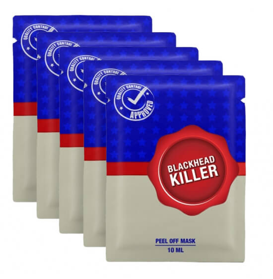 5x Blackhead Killer Peel Off Mask i gruppen Hudvård / Masker & treatments / Ansiktsmask hos Bangerhead (sB001105)