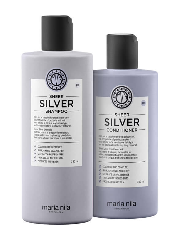 Maria Nila Care Silver Duo i gruppen Hårpleie / Shampoo & balsam / Balsam hos Bangerhead.no (sB003041)