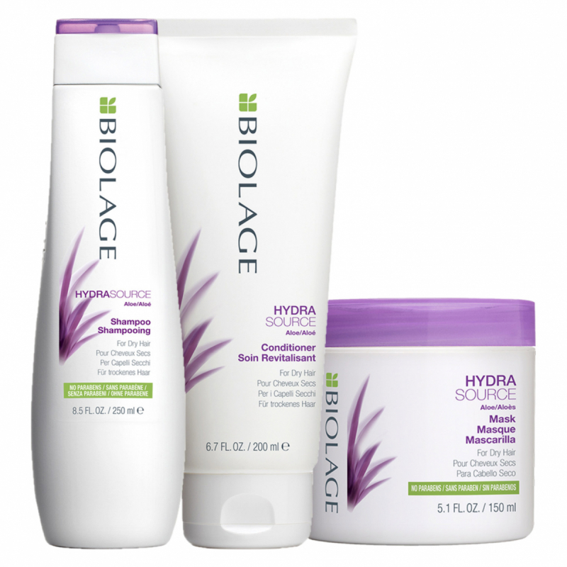 Matrix Biolage HydraSource Trio i gruppen Hårpleie / Hårkur & treatments / Hårkur hos Bangerhead.no (sB004856)
