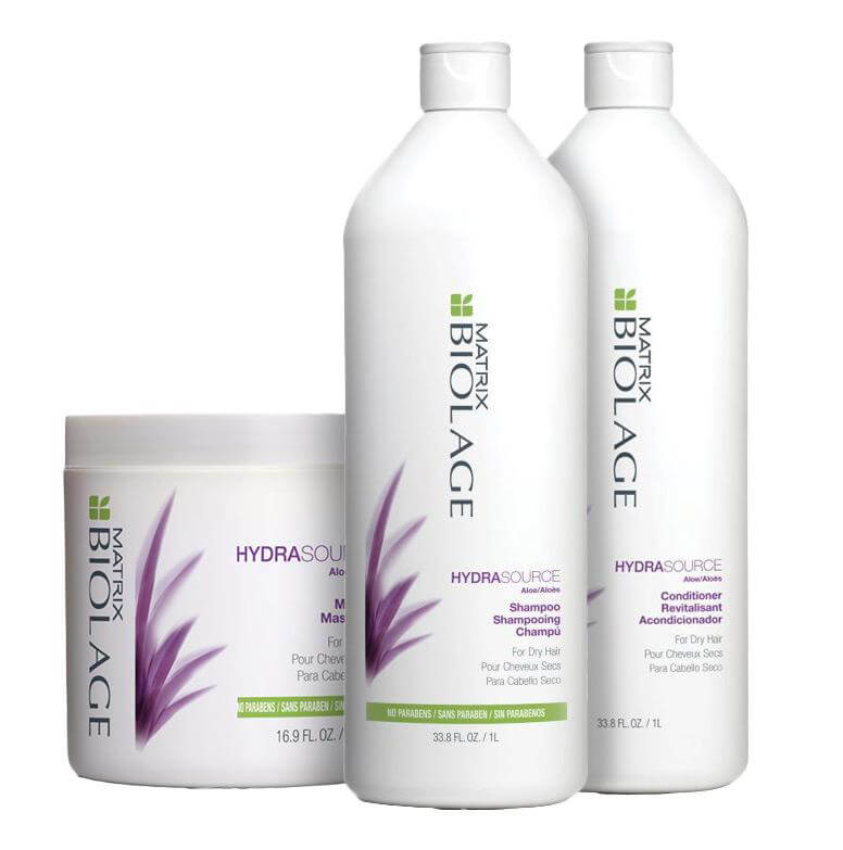 Matrix Biolage HydraSource Trio XXL i gruppen Hårpleie / Hårkur & treatments / Hårkur hos Bangerhead.no (sB004860)