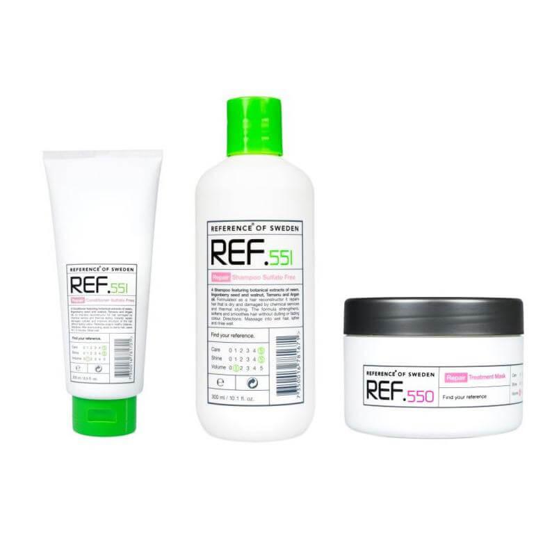 REF Repair Trio i gruppen Hårvård / Inpackning & treatments / Inpackning hos Bangerhead (sB006631)