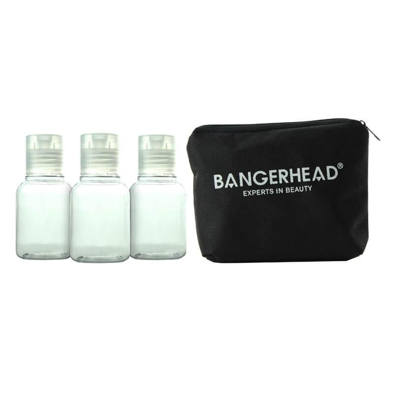 Bangerhead Makeup Bag + 3x Travel Bottle i gruppen Makeup / Necessär hos Bangerhead (sB009225)