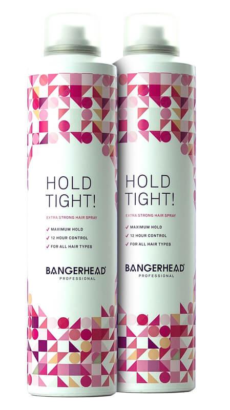 2x Bangerhead Professional Hold Tight! i gruppen Hårvård / Styling / Hårspray hos Bangerhead (sB009890)