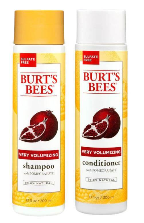 Burt's Bees Volumising Duo i gruppen Hårpleie / Shampoo & balsam / Balsam hos Bangerhead.no (sBB01314)