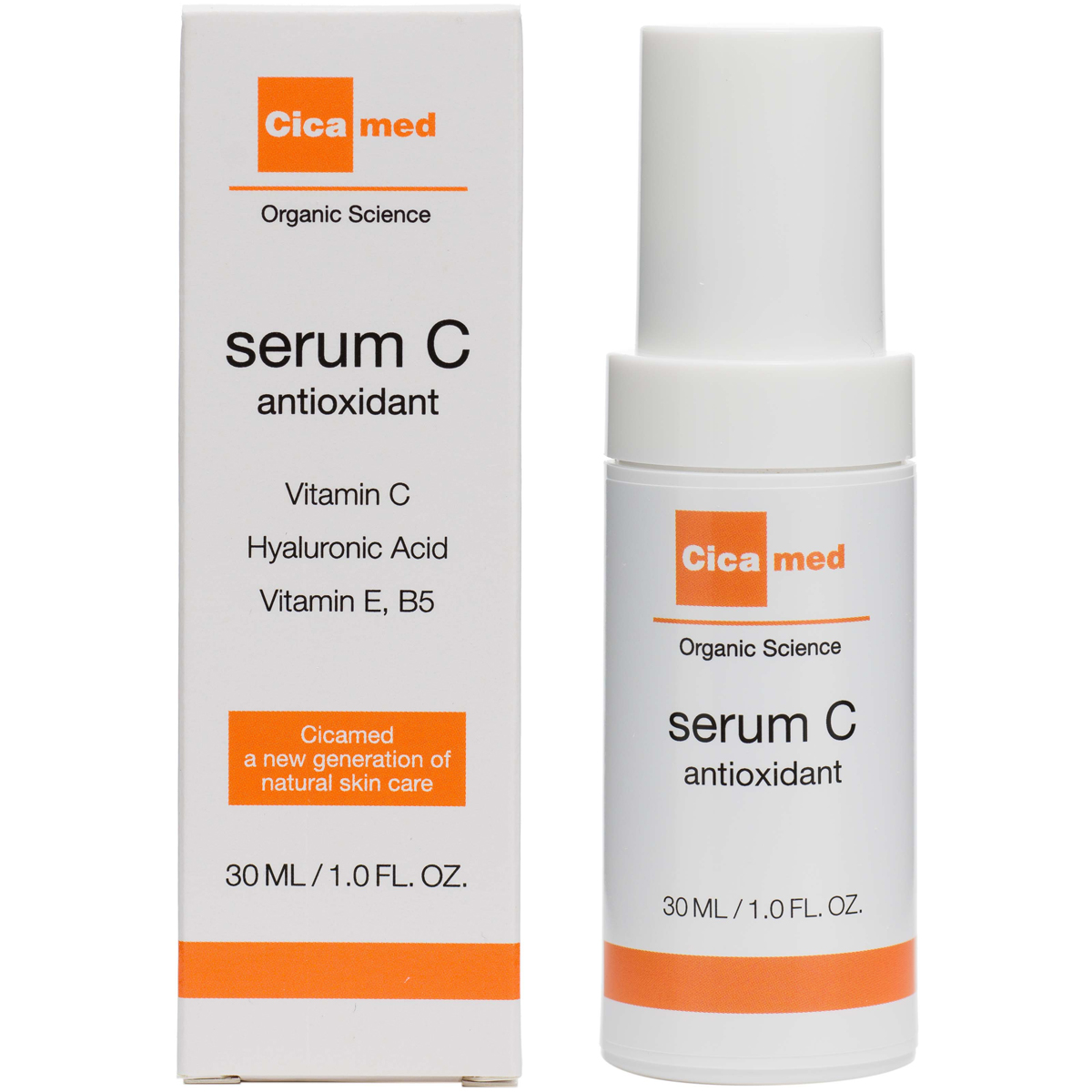 Cicamed Organic Science Serum C (30ml) i gruppen Hudvård / Masker & treatments / Ansiktsserum hos Bangerhead (B027295)