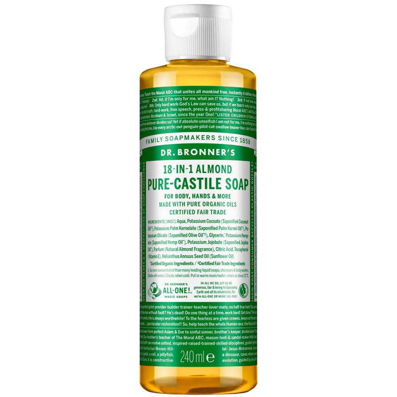 Dr. Bronner\'s Liquid Soap Almond